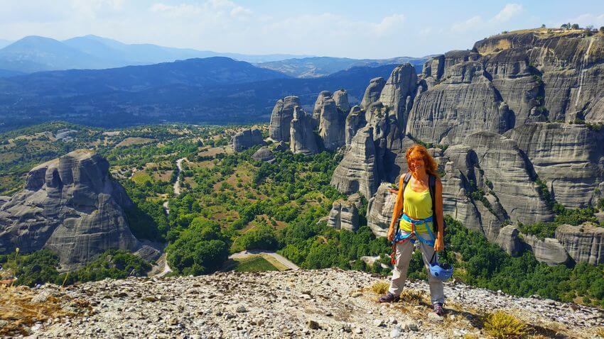 Meteora - vrchol Svateho Ducha - Recko