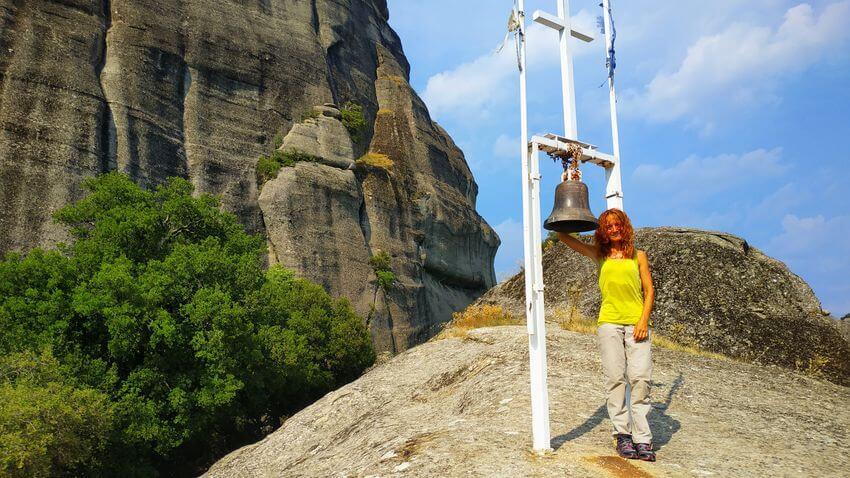 Meteora - zvon u Svateho Ducha - Recko