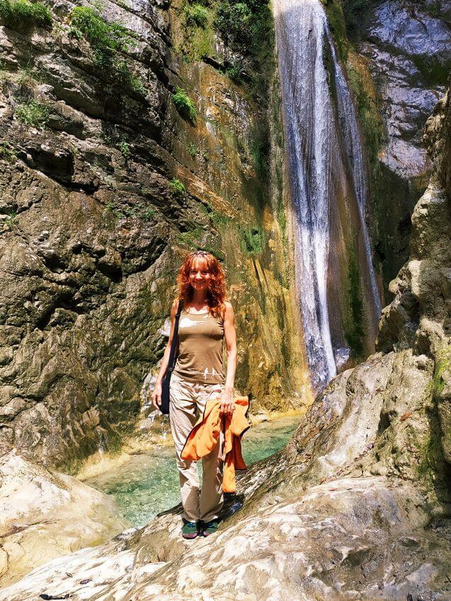 Vodopady u Nidri - Lefkada - Recko